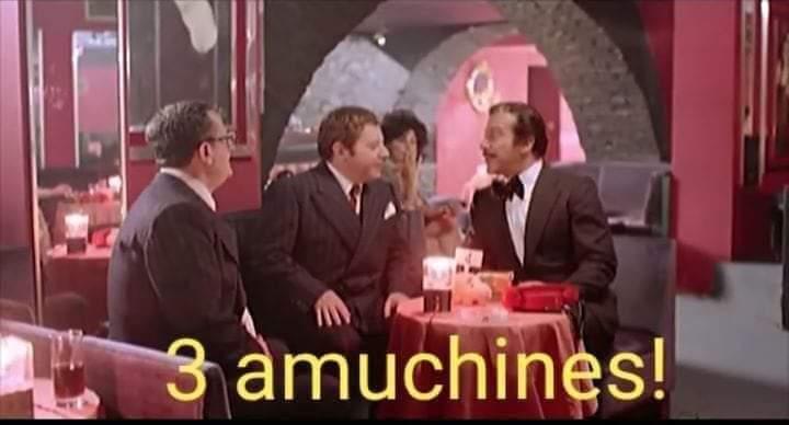 Fantozzi, Filini e Calboni 3 amuchines!