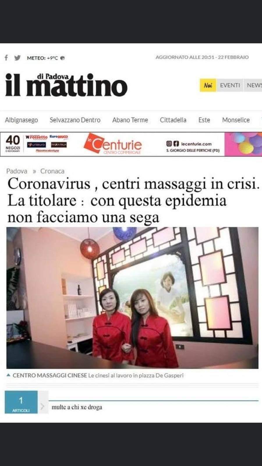 Centro massaggi cinese