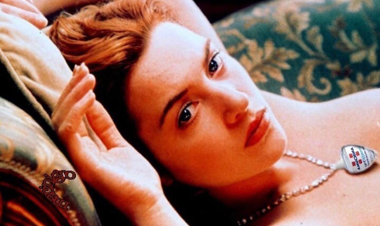 Rose dal Titanic all'Amuchina