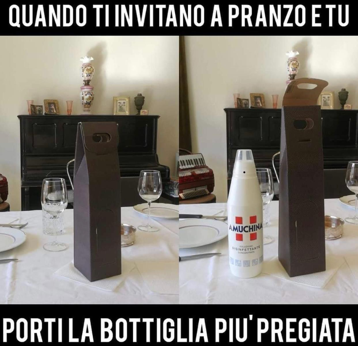 La bottiglia pi� pregiata